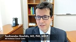 Ferdinandos Skoulidis, MD, PhD, MRCP, Discusses Exciting Research in the Lung Cancer Field From ASCO 2021