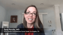 Sara A. Hurvitz, MD, Discusses Outcomes With Sacituzumab Govitecan By Age for Metastatic Triple-Negative Breast Cancer
