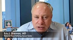 Eric J. Sherman, MD, on Agents for Treating RET Fusion–Positive Thyroid Cancer