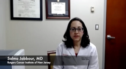 Salma Jabbour, MD, on AEs Observed With Pembrolizumab Plus Concurrent Chemoradiotherapy in Stage III NSCLC