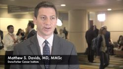 Matthew S. Davids, MD, MMSc, Discusses Study of Duvalisib in Combination with Venetoclax