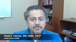 Saad Z. Usmani, MD, MBA, FACP, Talks About Durable and Deep Responses of Cilta-Cel for Patients With Multiple Myeloma