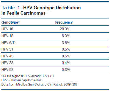 high risk hpv genotypes cancer)