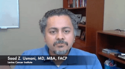 Saad Z. Usmani, MD, MBA, FACP, Details the Safety Profile for CARTITUDE-1 Trial