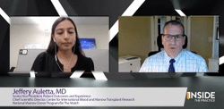 Medical World News® Inside the Practice: CancerNetwork® and Jeffery Auletta, MD, Discuss Mismatched and Unrelated Donor Stem Cell Transplants in Patients With Acute Leukemias and Myelodysplastic Syndrome