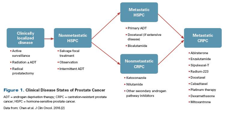 prostate cancer metastatic guidelines)