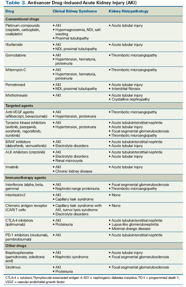 Acute Kidney Injury In Patients With Cancer
