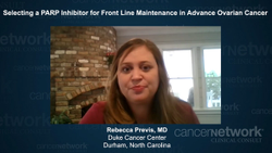 Selecting a PARP Inhibitor for Front Line Maintenance in Advance Ovarian Cancer