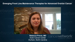 Emerging Front-Line Maintenance Therapies for Advanced Ovarian Cancer