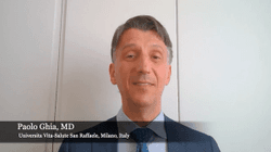 Paolo Ghia, MD, PhD, on the Chemo-Free, All-Oral Regimen of Ibrutinib Plus Venetoclax for First-Line CLL at ASCO 2021