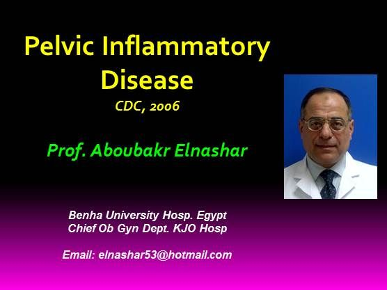 Pelvic Inflammatory Disease Cdc 2006 Contemporary Ob Gyn
