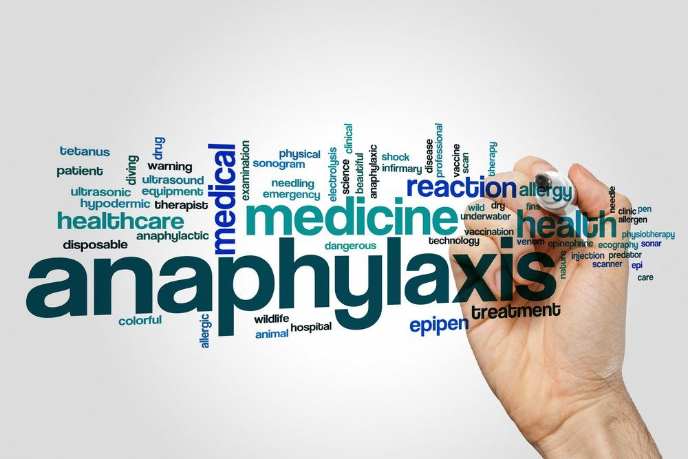 Anaphylaxis essentials for infants