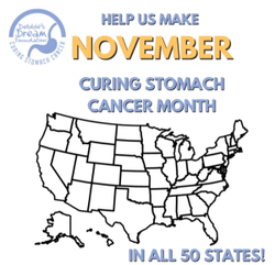 Curing Stomach Cancer Month