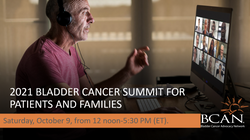 Virtual Summit for Bladder Cancer Patients and Families