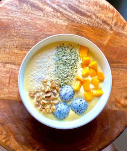 Cooking With CURE: Mango Smoothie Bowl Recipe