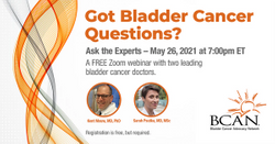 Got a Bladder Cancer Question? Ask the Experts