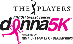The DONNA Foundation Kicks Off Breast Cancer Awareness Month with THE PLAYERS DONNA 5K on October 2, 2021