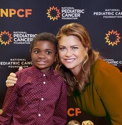 Kathy Ireland Joins the National Pediatric Cancer Foundation's 'Team 43' to Raise Funds and Awareness