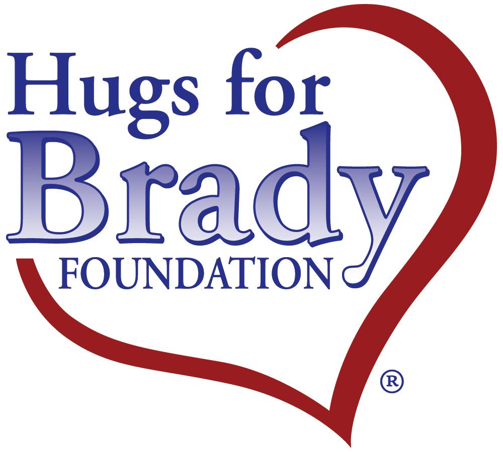 Hugs for Brady Foundation logo