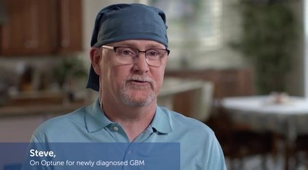 Optune for newly diagnosed