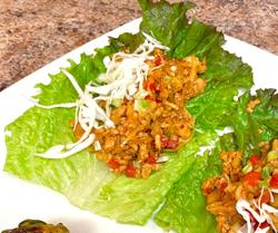 Cooking with CURE: Thai Chicken Lettuce Wraps Recipe