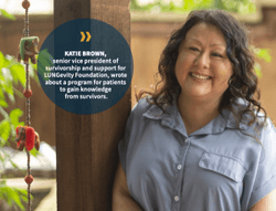 Peer Support Helps Patients Navigate Their Cancer Journey