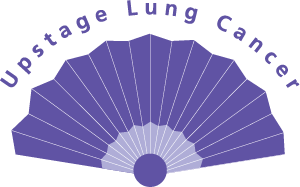Upstage Lung Cancer logo