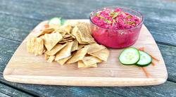 Cooking with CURE: Beet Hummus Recipe