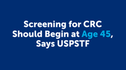 Statement on USPSTF's Draft CRC Screening Recommendation