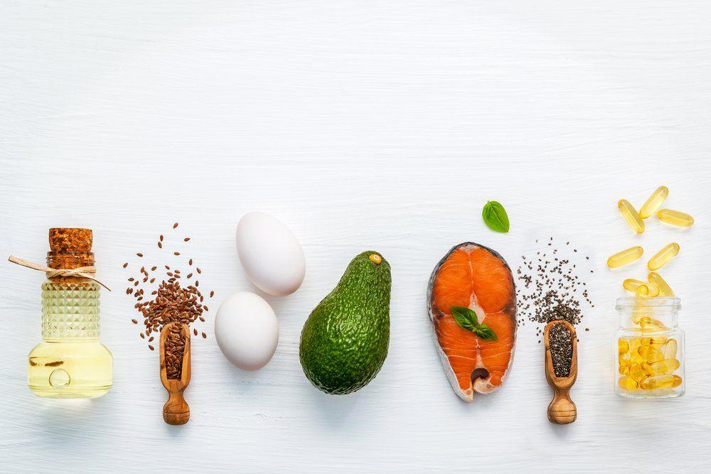 foods containing fatty acids