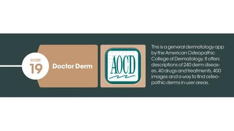 The top 7 mobile apps in dermatology