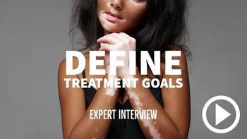 Talk to your vitiligo patients about their treatment goals