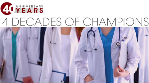 40 years of champions in dermatology