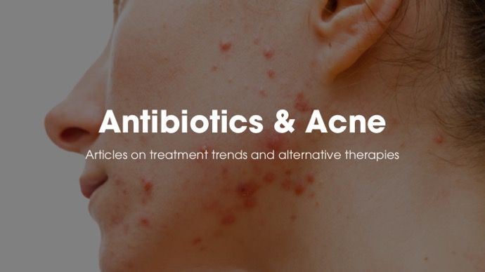 antibiotics and acne