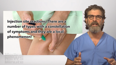 Video: Manage injection site reactions with patient education