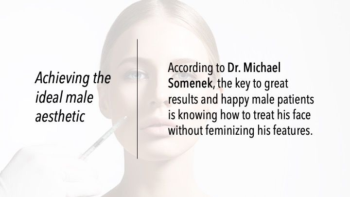 Achieving the ideal male aesthetic