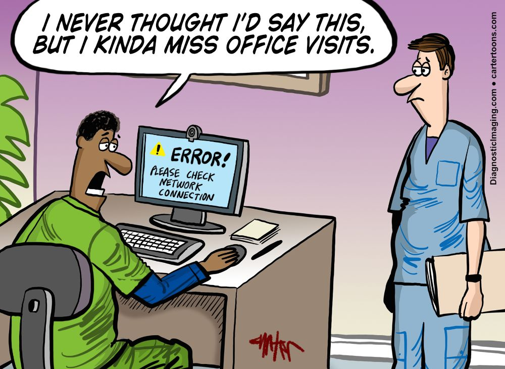 Teleradiology comic
