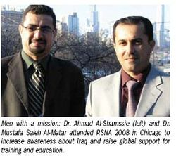 Radiologists in war-torn country reach out for global support
