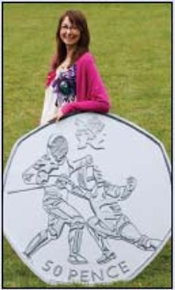 Sporting design wins Olympic coin contest