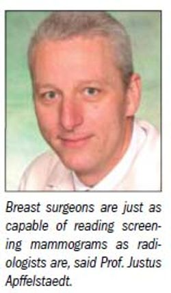 Breast surgeons to tackle screening mammography