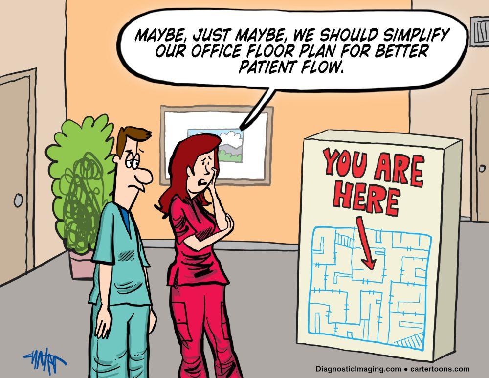 Floor plan comic