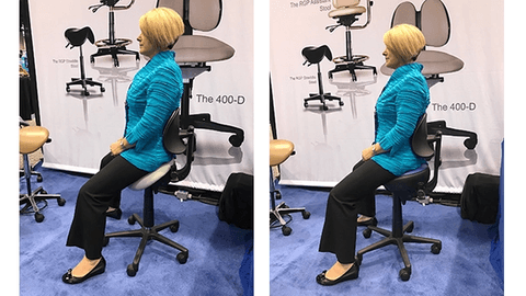 Hybrid saddle stools: what's the scoop?