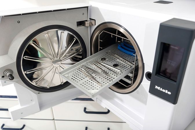 Infection control products from Miele