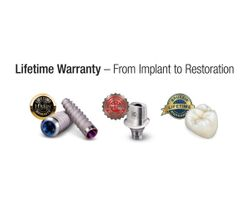 Glidewell Announces New Lifetime Warranty for Implants and Restorations