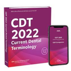 American Dental Association Announces 2022 CDT Code Books