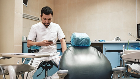 Making use of unexpected dental practice downtime