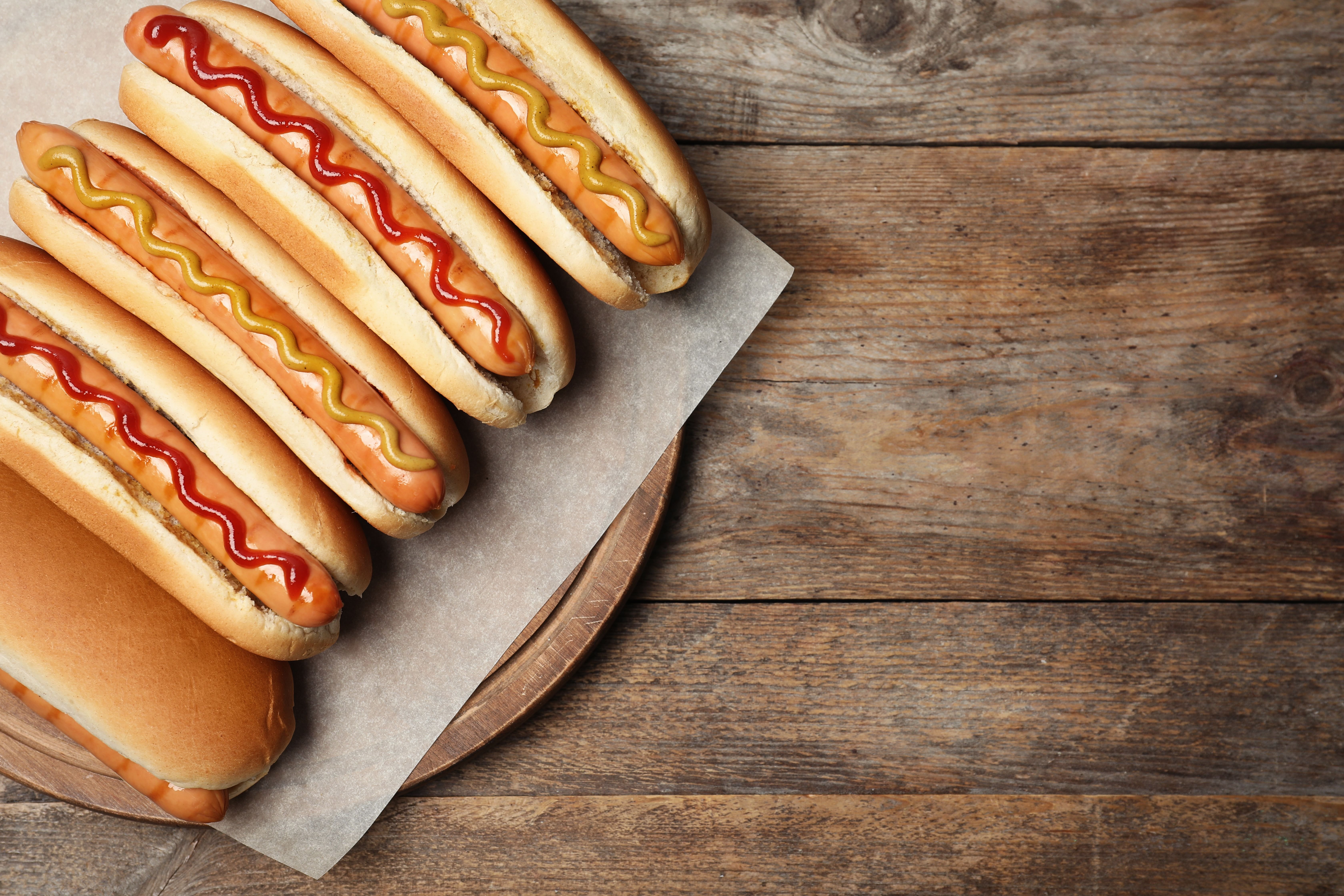 Hot dogs are great, but too much starchy bread/buns is not