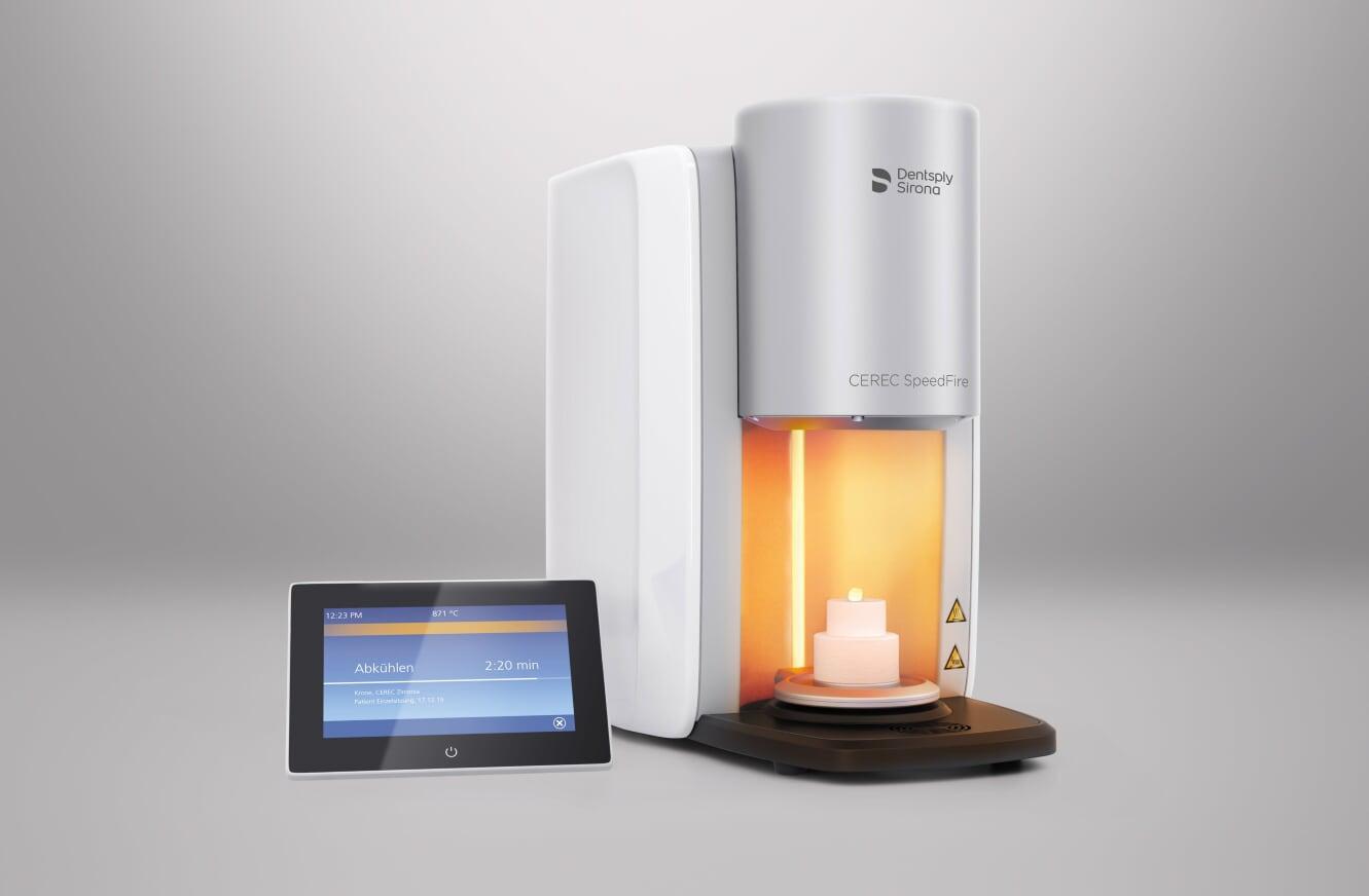 CEREC Chairside Zirconia with the SpeedFire furnace
