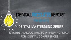 """Mastermind - Episode 7 - Adjusting to a """"New Normal"""" for Dental Conferences"""