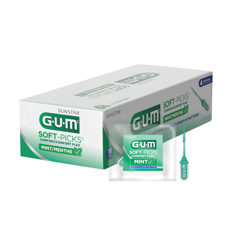 GUM® Soft-Picks® Comfort Flex Mint